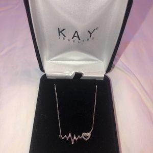 Kay Jewelers Heartbeat Necklace